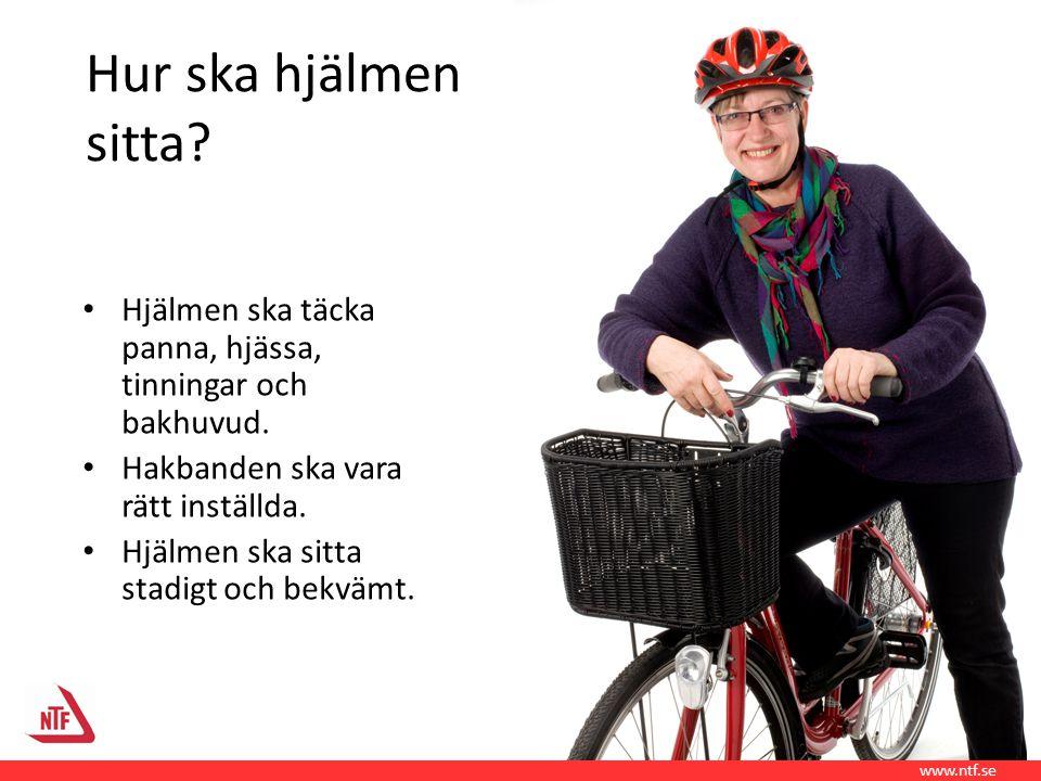 Cykling är inte bara skönt Cykling ger också hälsoeffekter Kondition Stärker skelett, muskler och leder Ökad livskvalitet