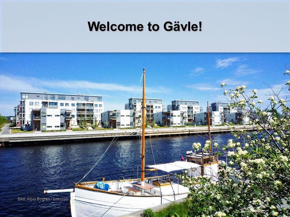 Welcome to Gävle! Bild: Albin Bogren / BARINGO