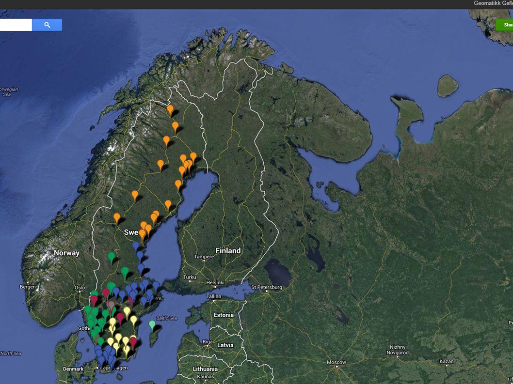 Våra coretjänster - Sverige (fn) KundmottagningKommunalt grävtillstånd Kabelutsättning