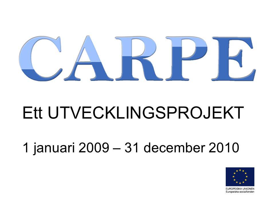 Ett UTVECKLINGSPROJEKT 1 januari 2009 – 31 december 2010