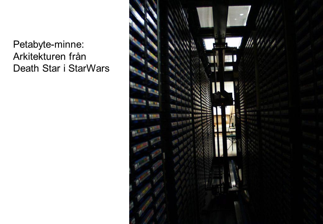 Petabyte-minne: Arkitekturen från Death Star i StarWars