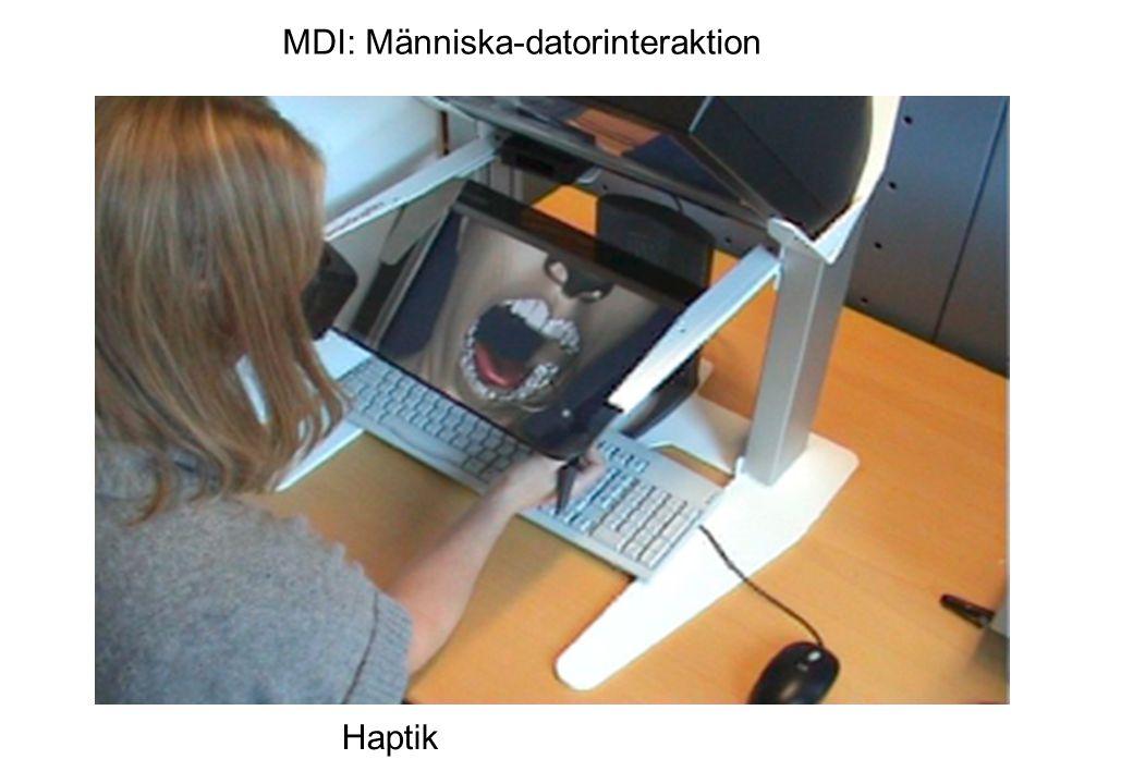 Haptik MDI: Människa-datorinteraktion