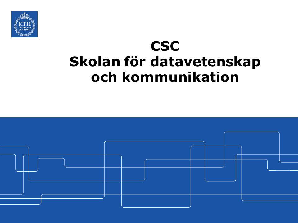 CSC i korthet – Fakta och siffror om CSC