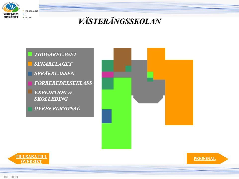 TIDIGARELAGET SENARELAGET SPRÅKKLASSEN FÖRBEREDELSEKLASS EXPEDITION & SKOLLEDING ÖVRIG PERSONAL PERSONAL TILLBAKA TILL ÖVERSIKTVÄSTERÄNGSSKOLAN 2009-0