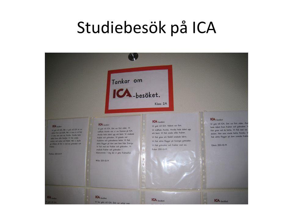 Studiebesök på ICA