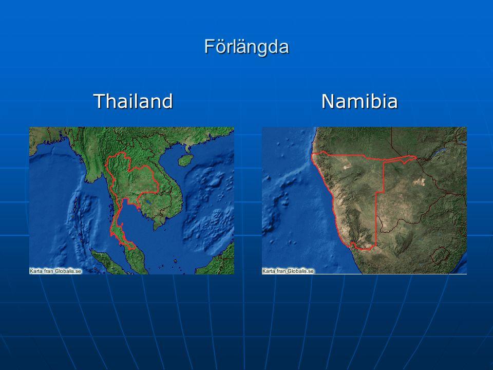 Förlängda ThailandNamibia