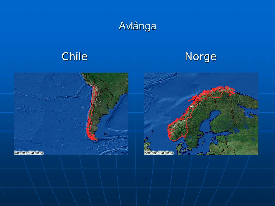 Avlånga ChileNorge