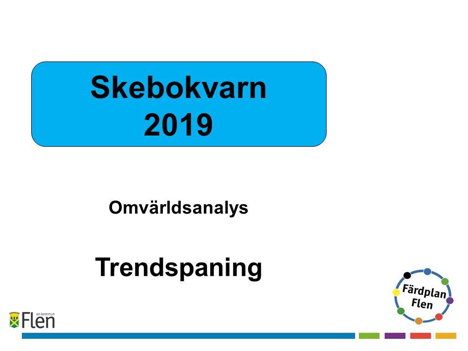 Skebokvarn 2019 Omvärldsanalys Trendspaning