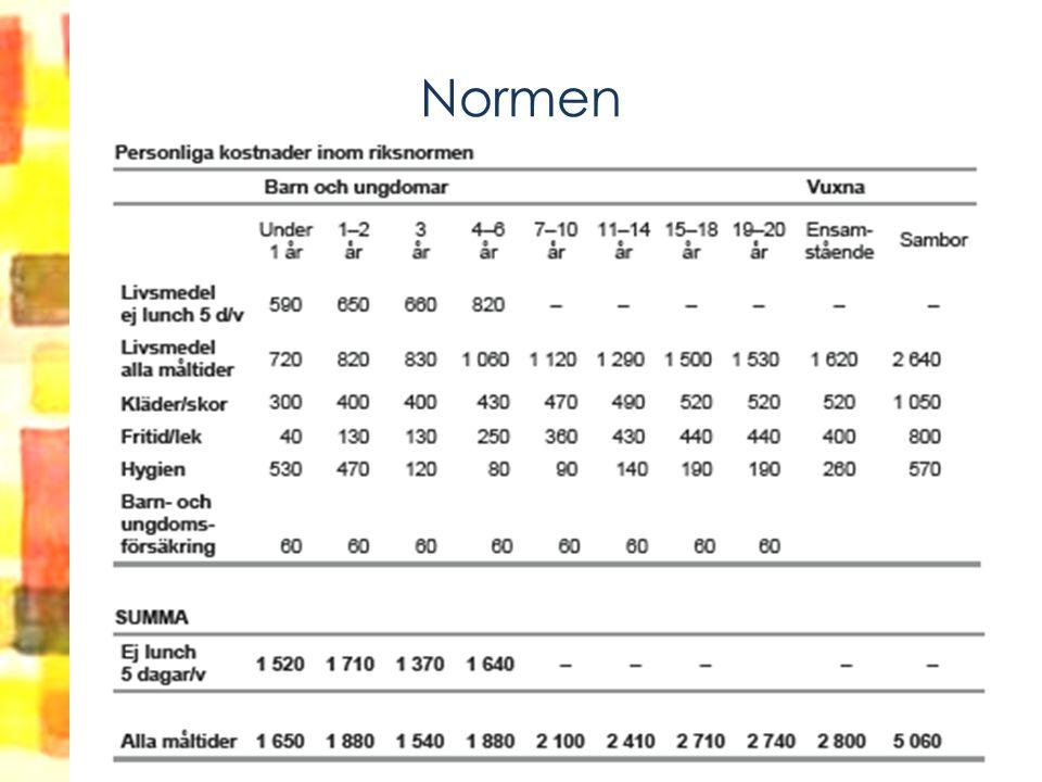 Normen (hushållskostnader)
