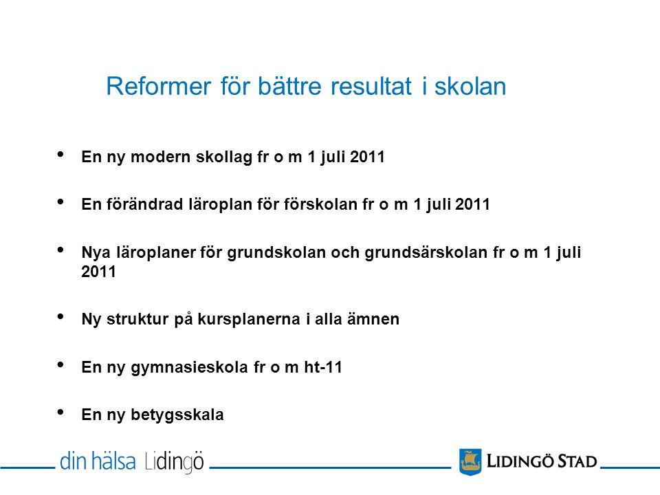 Sverigetoppen betyg åk 9 Genomsnittligt meritpoäng lå 09/10 Danderyd248,3 (behör 98,4%) Lidingö242,1 (behör 96,7%) Sorsele238,6 (behör 100%)