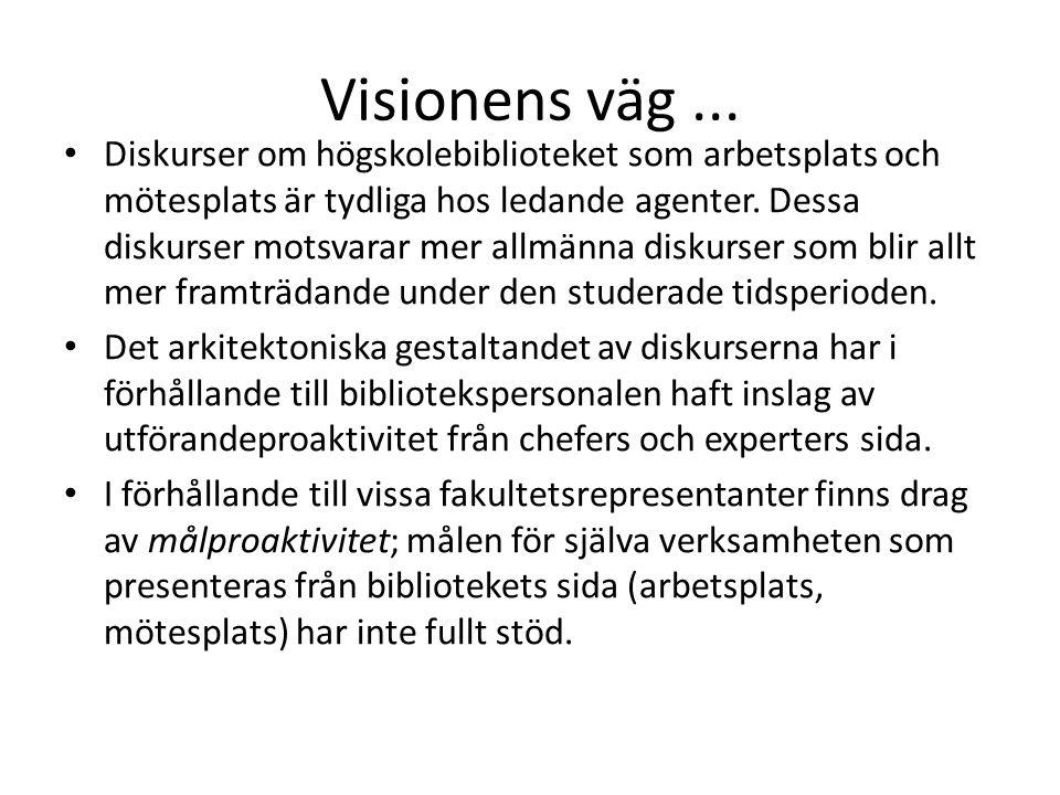 Visionens väg...