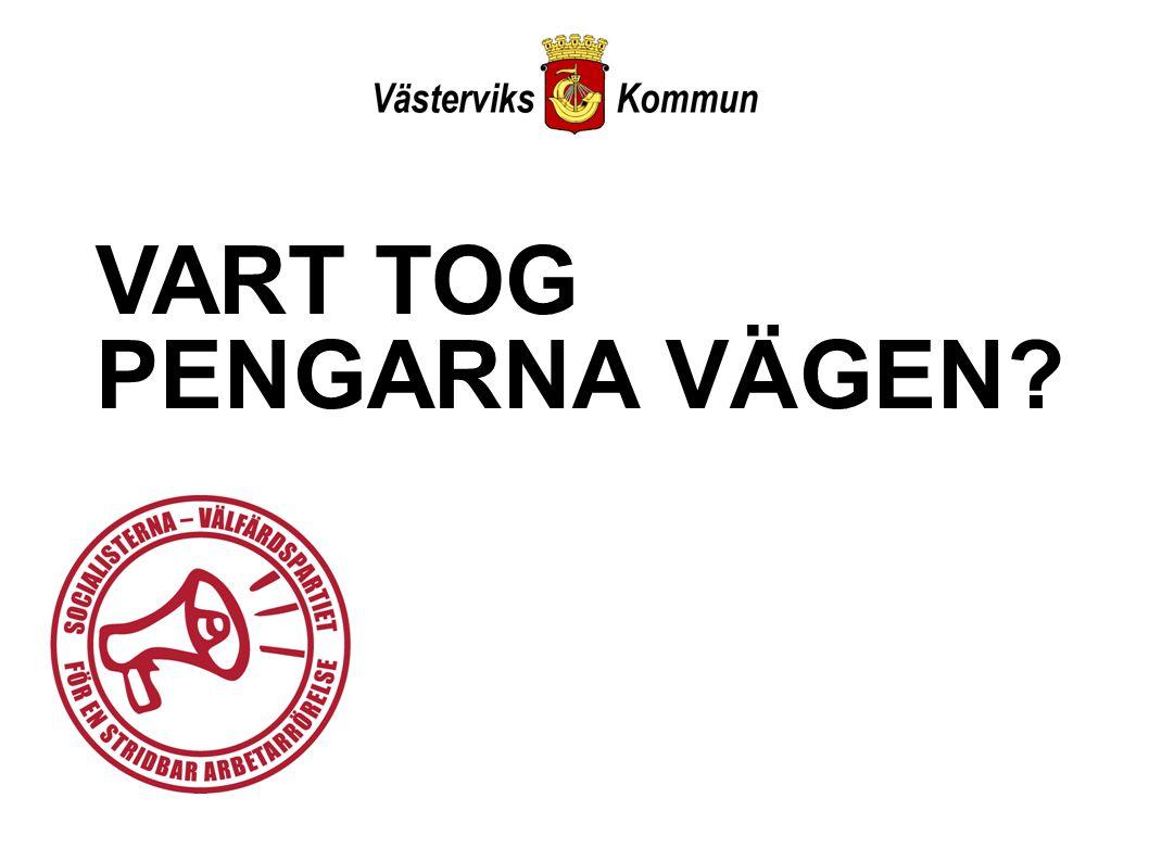 VART TOG PENGARNA VÄGEN