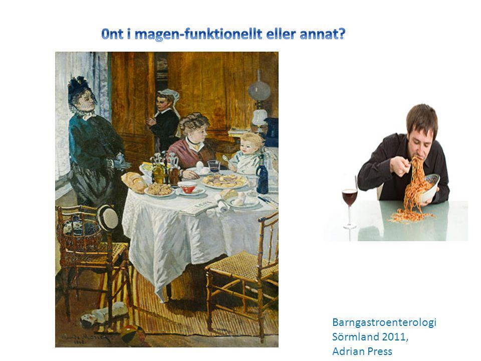 Barngastroenterologi Sörmland 2011, Adrian Press
