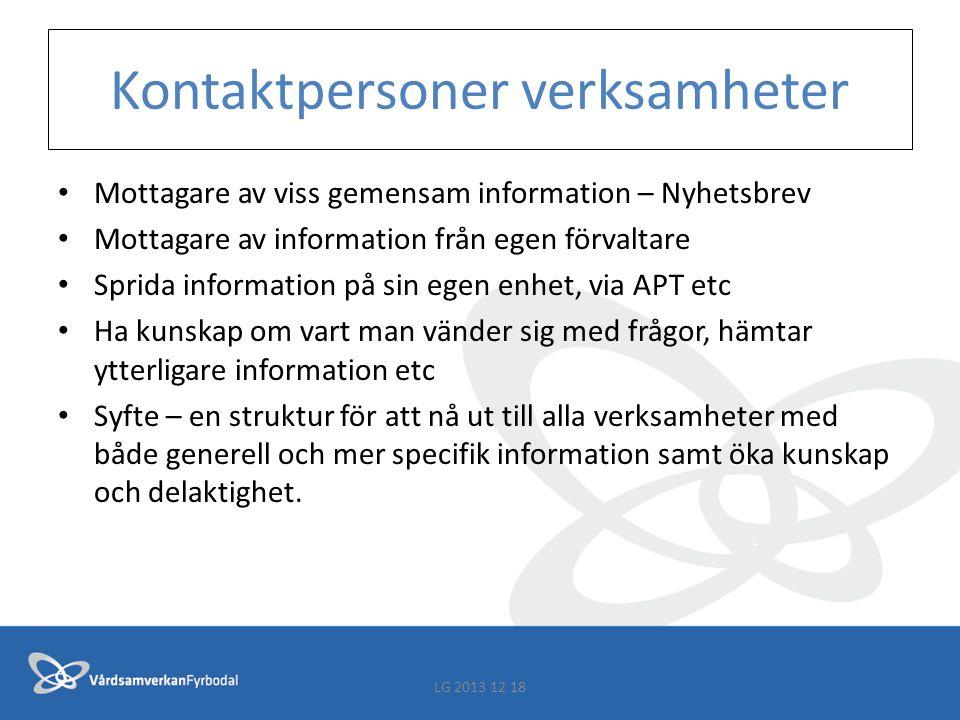 Information Viktigt med information i linjen - erfarenhet från tidigare implementering av KLARA SVPL - användare få möjlighet att gå på utbildning - superanvändare ges möjlighet att utbilda och delta i nätverk - förvaltare möjlighet att fullgöra sitt uppdrag - mm Försvårar införandet om samverkansarenorna och nätverken ska bära information uppåt i verksamhetslinjen.