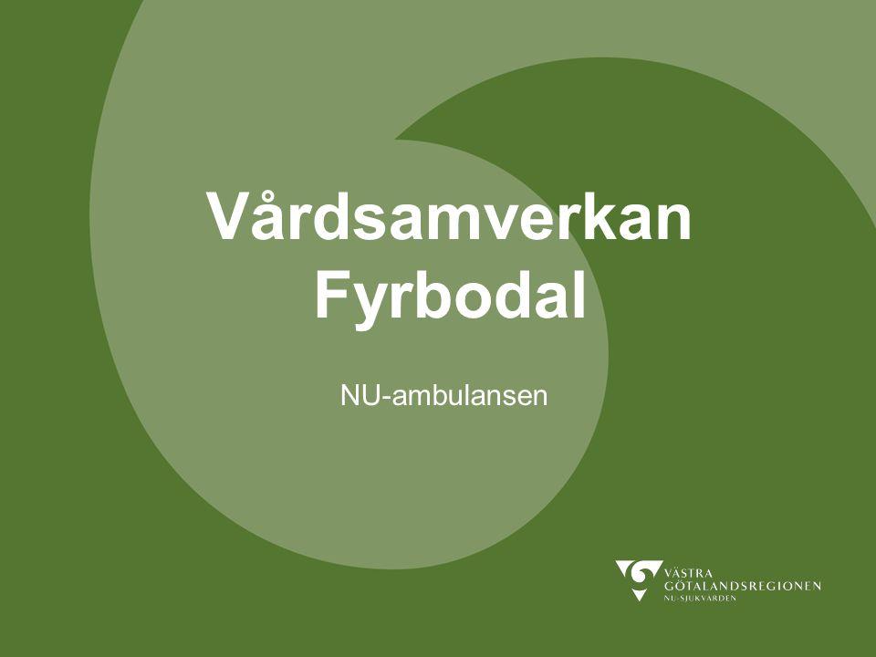 Vårdsamverkan Fyrbodal NU-ambulansen