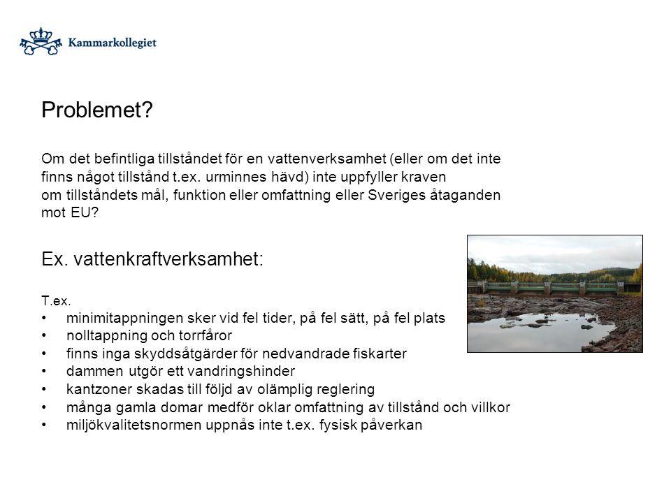 Gullspång Foto: Mats Hebrand och Stefan Sjödin Problemet.