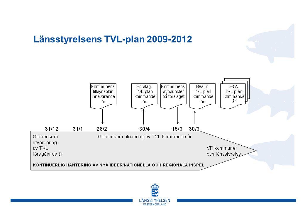 Länsstyrelsens TVL-plan 2009-2012