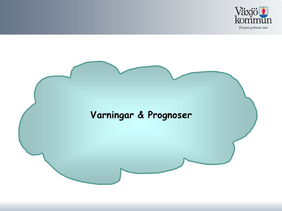 Varningar & Prognoser