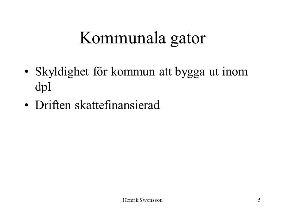 Henrik Swensson16 Verksamhetsområde