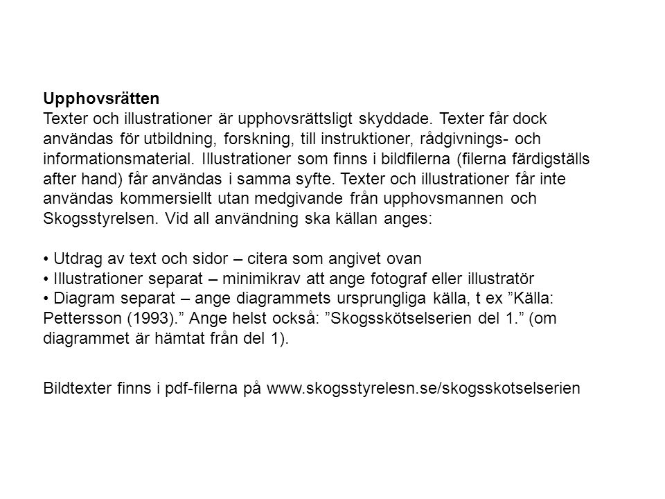 Figur LÖ31.Skogsskötselserien nr 9, Skötsel av björk, al och asp.
