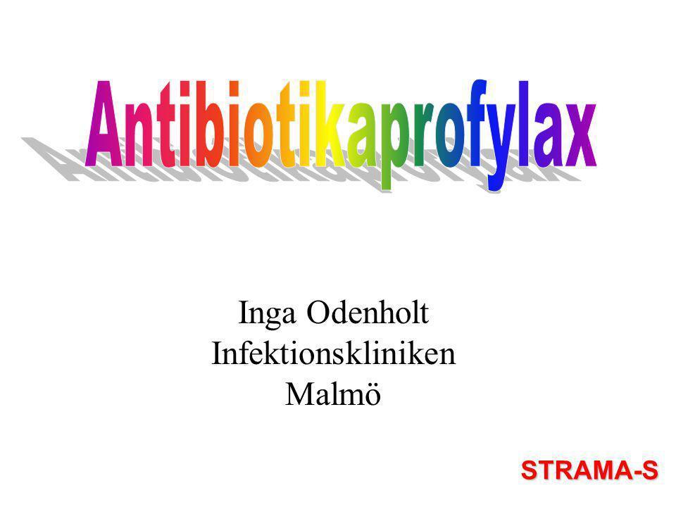 Inga Odenholt Infektionskliniken Malmö STRAMA-S