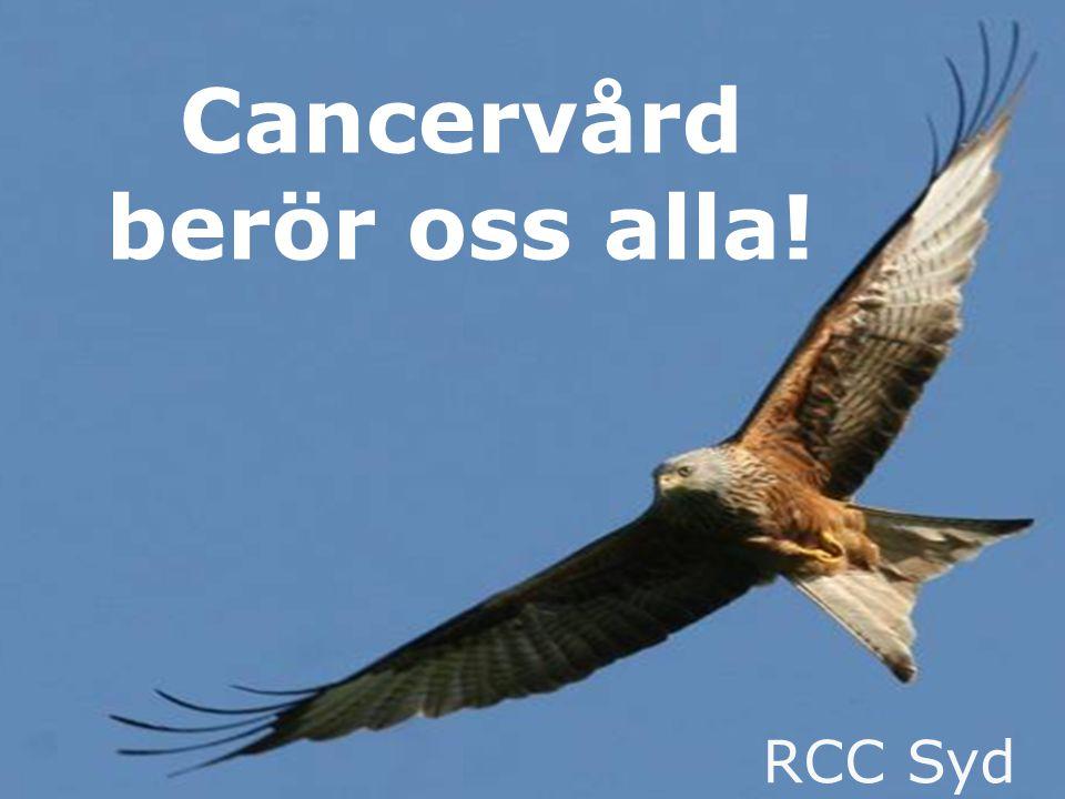 www.cancercentrumsyd.se RCC Syd Cancervård berör oss alla!