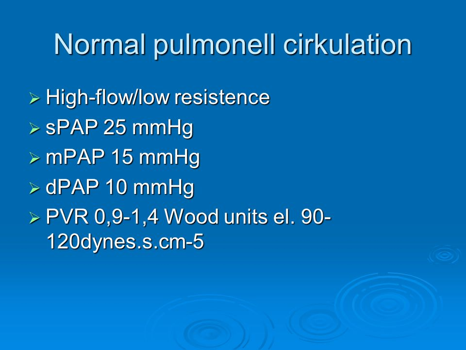 Högrisk kirurgi  Risk för stor blodförlust  Risk för venös luft-fett-cement emboli  Ökad CO2  Förlust av lungkärl (lungresektioner)