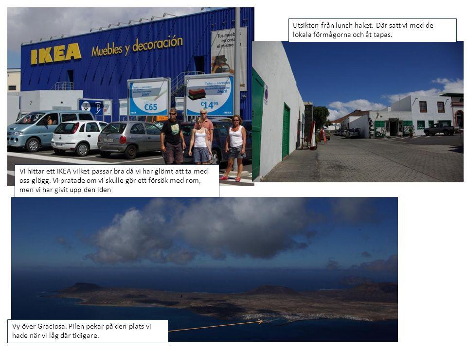 Efter fem nätter är det dags att lämna Lanzarote för att segla till Teneriffa, närmare bestämt Santa Cruze som ligger på nordöstra spetsen.