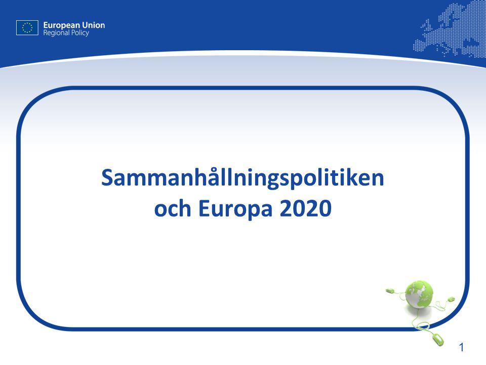 1 Sammanhållningspolitiken och Europa 2020