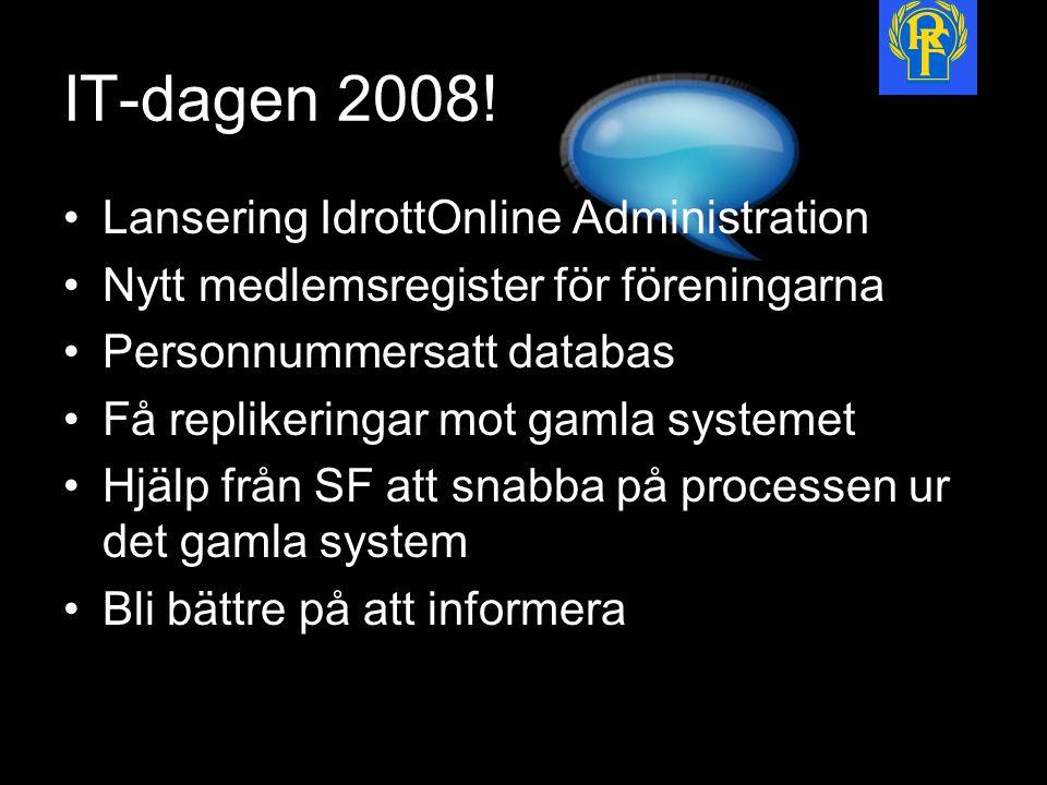 IT-dagen 2008.