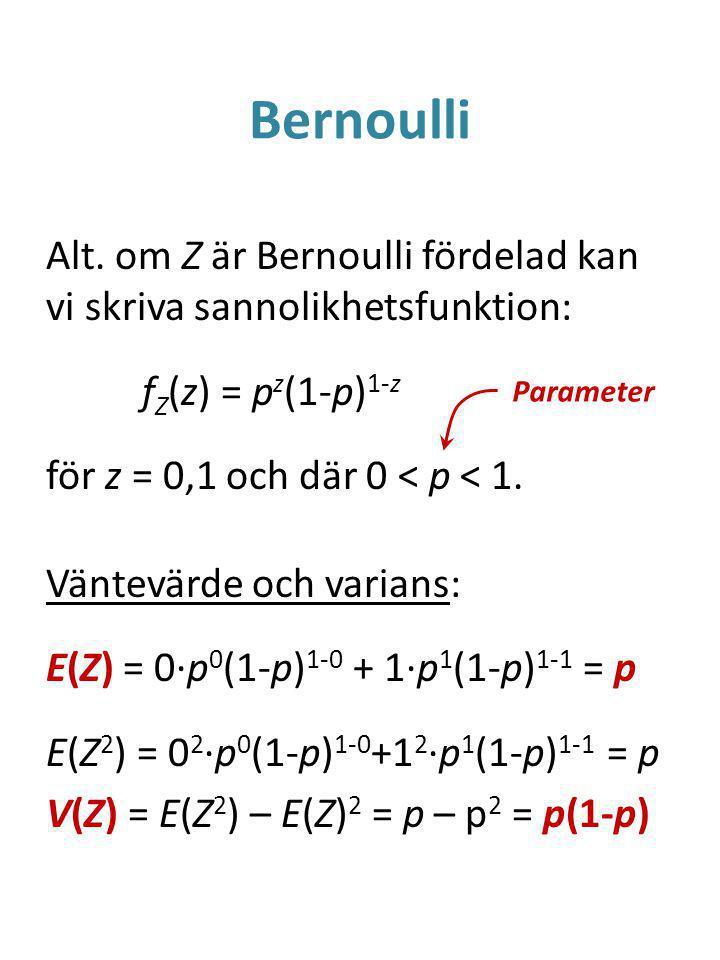 Bernoulli Alt.
