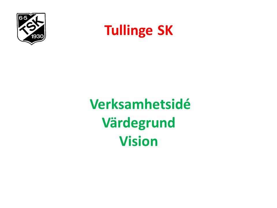  Tullinge SK Verksamhetsidé Värdegrund Vision
