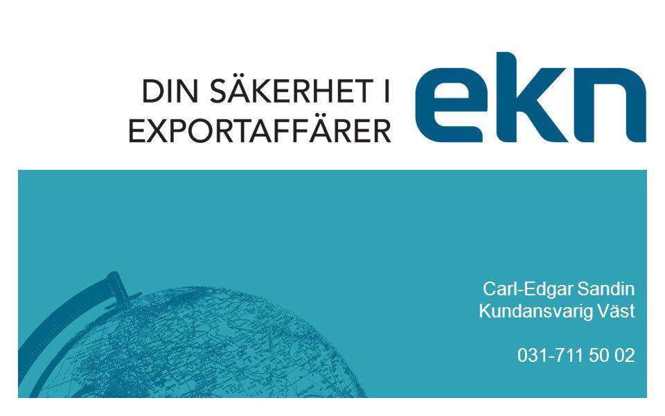 Carl-Edgar Sandin Kundansvarig Väst 031-711 50 02