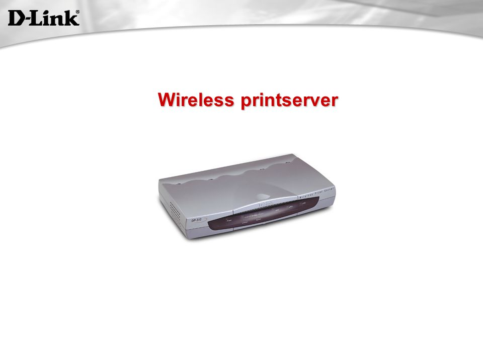 Wireless printserver