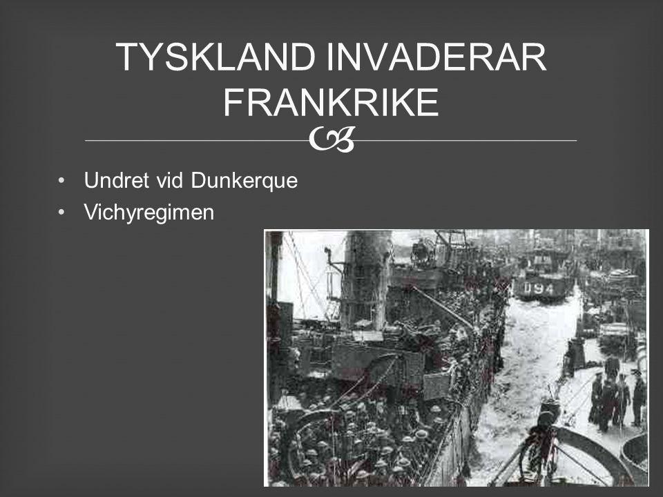  Undret vid Dunkerque Vichyregimen