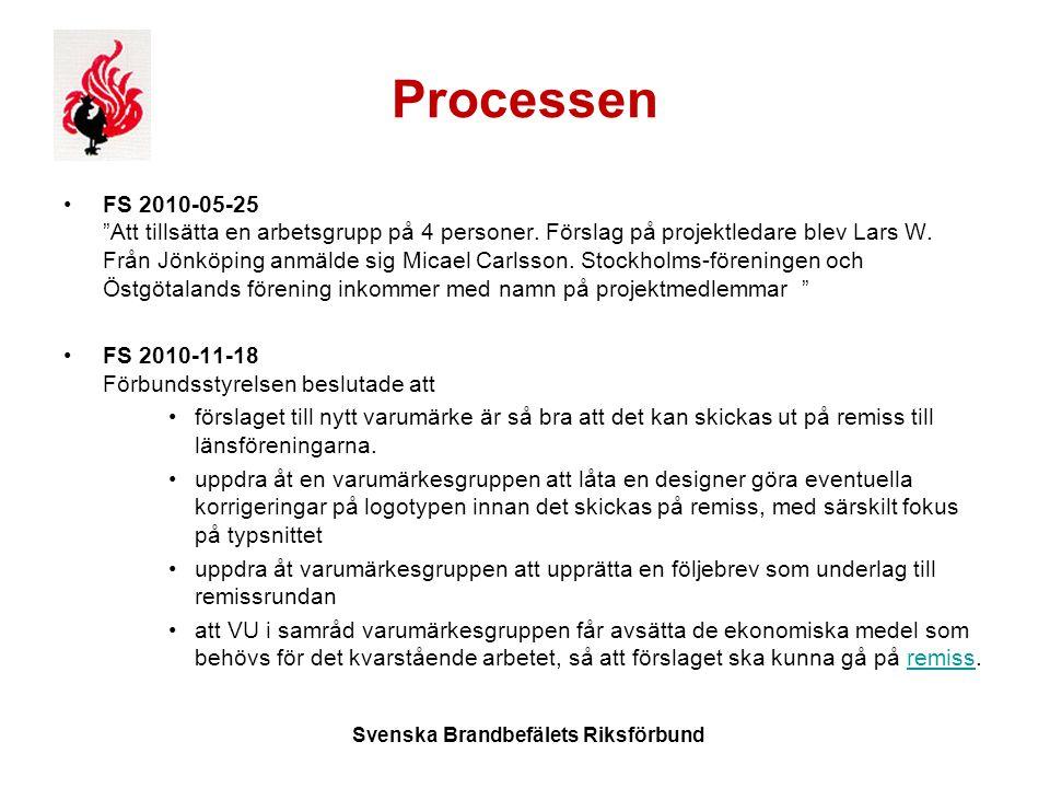 Processen FS 2010-05-25 Att tillsätta en arbetsgrupp på 4 personer.