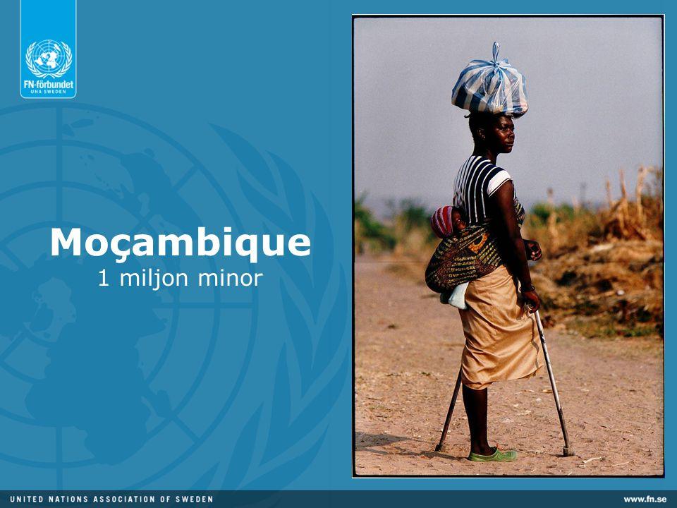 Moçambique 1 miljon minor