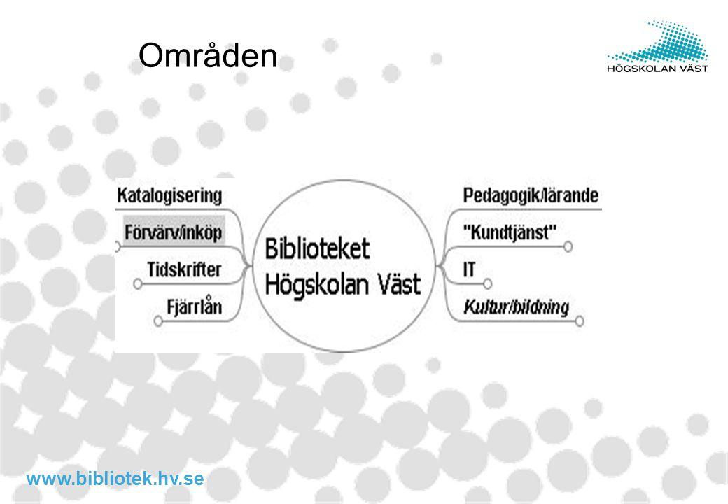 www.bibliotek.hv.se Områden