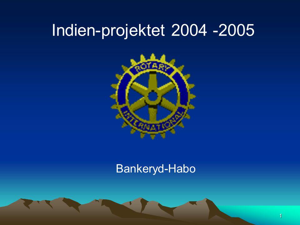 1 Bankeryd-Habo Indien-projektet 2004 -2005
