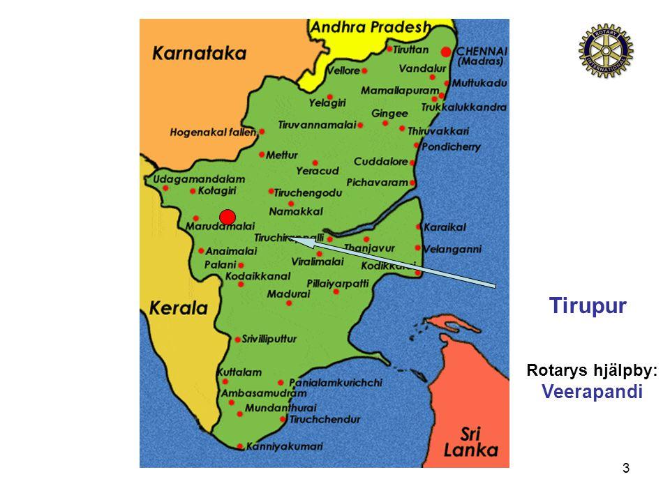 3 Tirupur Rotarys hjälpby: Veerapandi