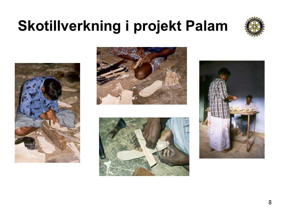 8 Skotillverkning i projekt Palam