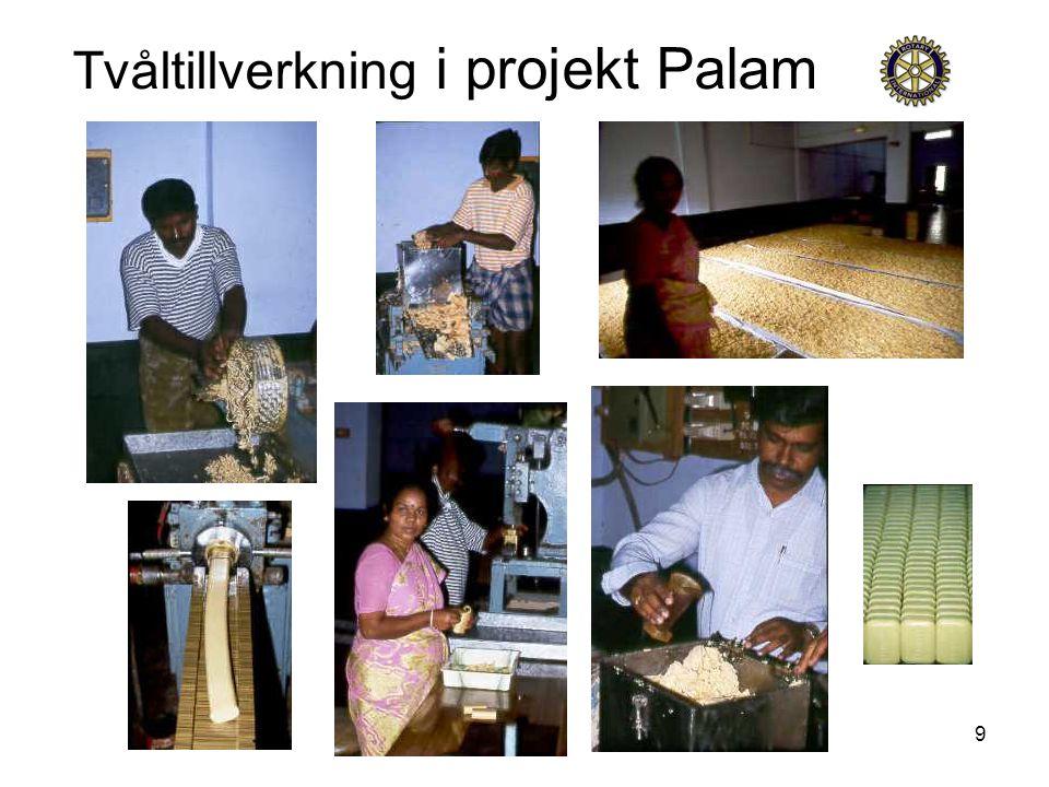9 Tvåltillverkning i projekt Palam