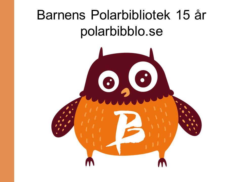 Barnens Polarbibliotek 15 år polarbibblo.se