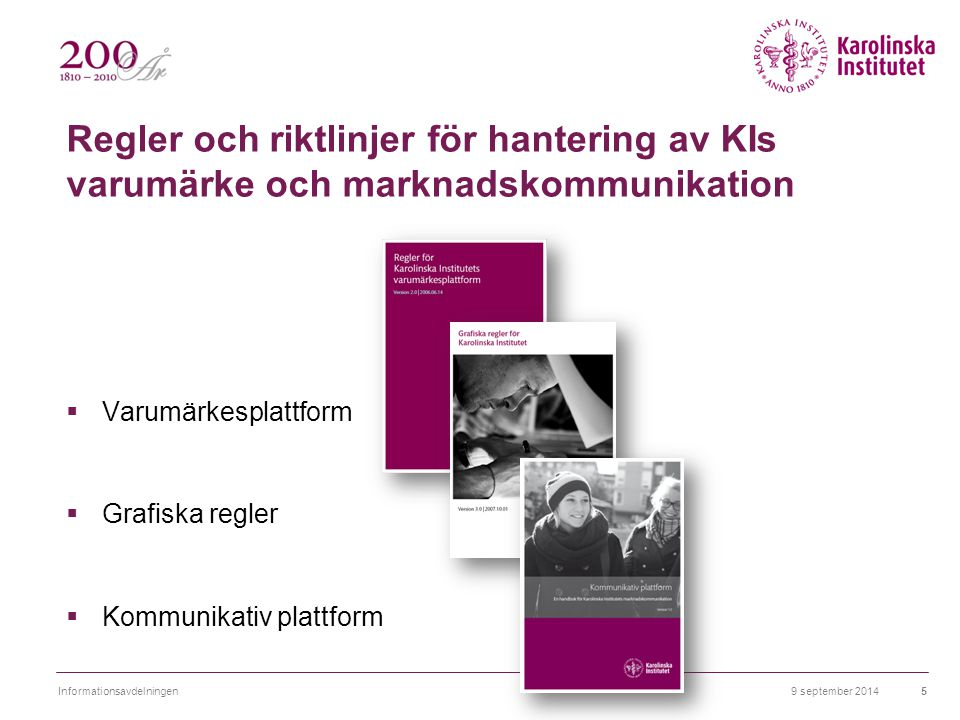 9 september 2014Informationsavdelningen16