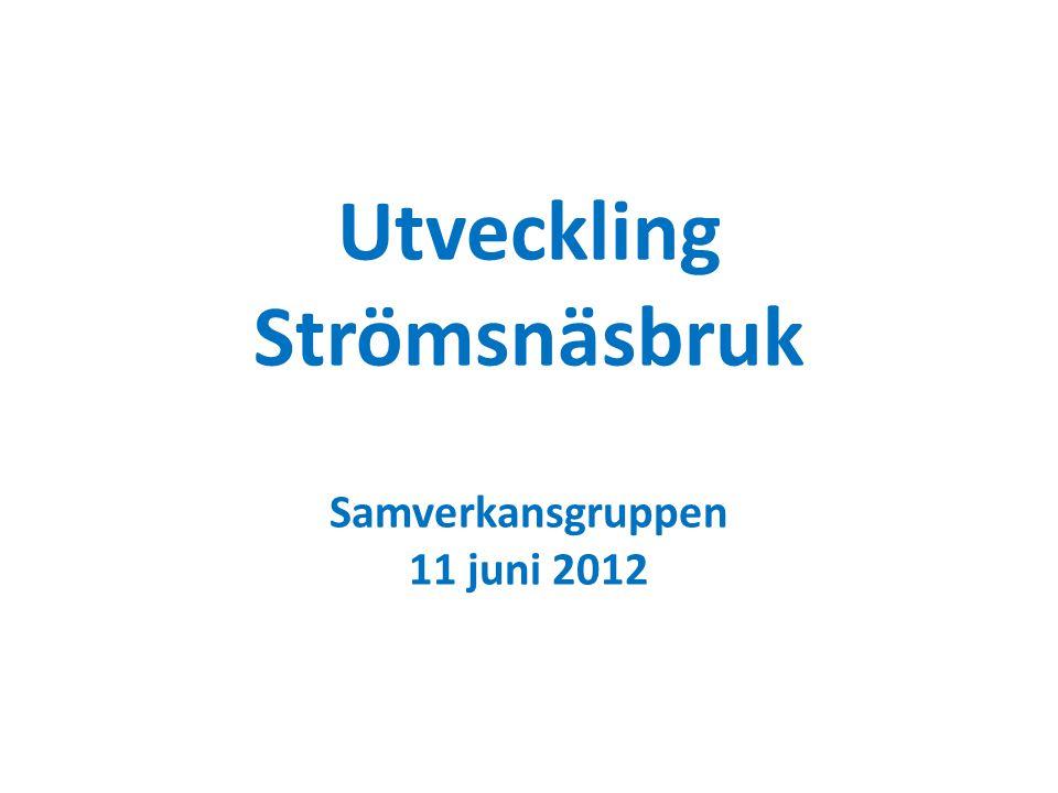 Utveckling Strömsnäsbruk Samverkansgruppen 11 juni 2012