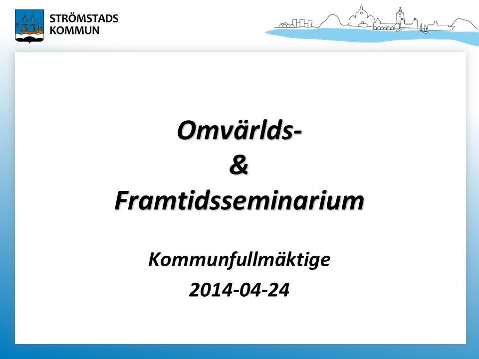Omvärlds- & Framtidsseminarium Kommunfullmäktige 2014-04-24