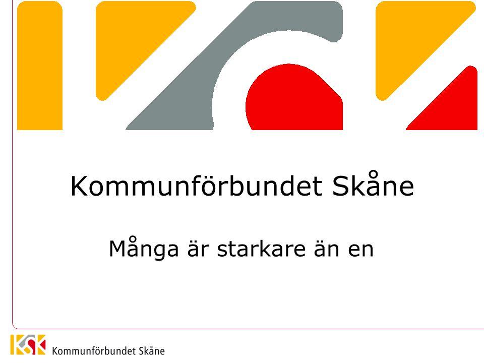 Kommunförbundet Skåne Många är starkare än en