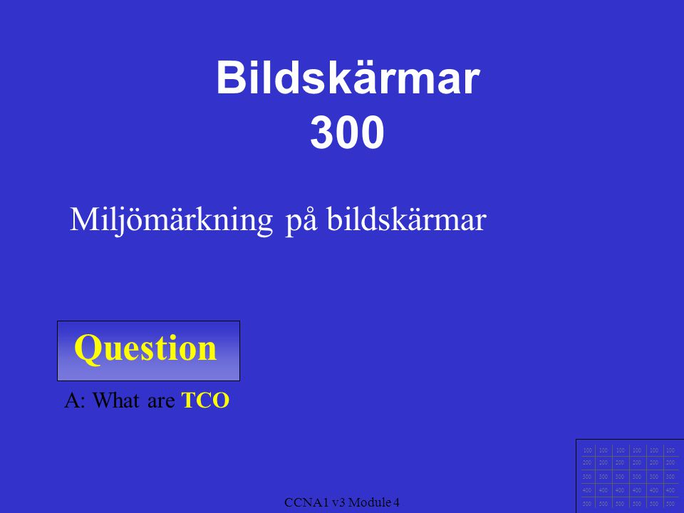 Question 100 200 300 400 500 CCNA1 v3 Module 4 A: What are Pixel.