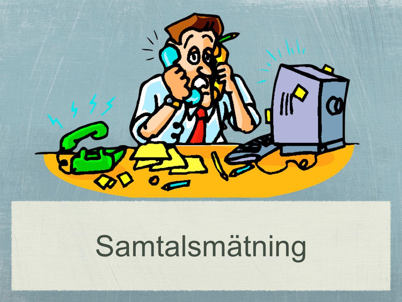 cc Per Flensburg 15 Resursåtgång under en vecka 4718 telefonkontakter i kategori information och upplysning + synpunkter 37744 min (8 min per ärende) 629 tim under en vecka 18 heltidstjänster (räknat på arbetstid 35 tim per vecka) Kan vi minska tiden per ärende med 1 min spar vi 2,25 tjänster!