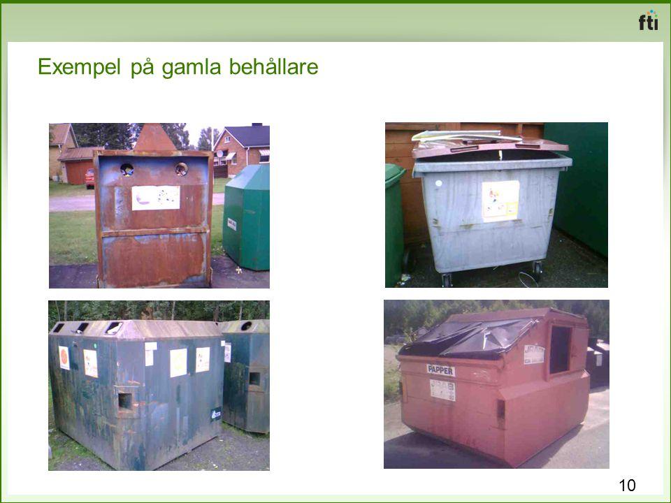Exempel på gamla behållare 10